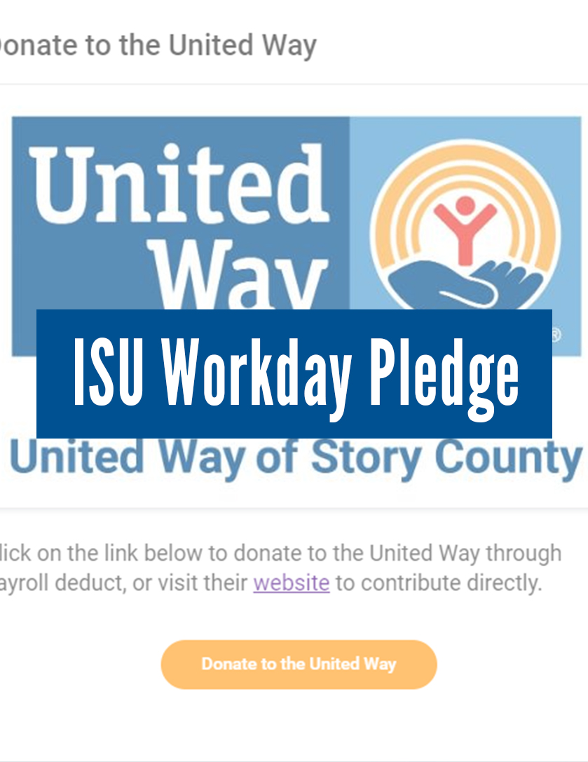 ISU Workday Pledge