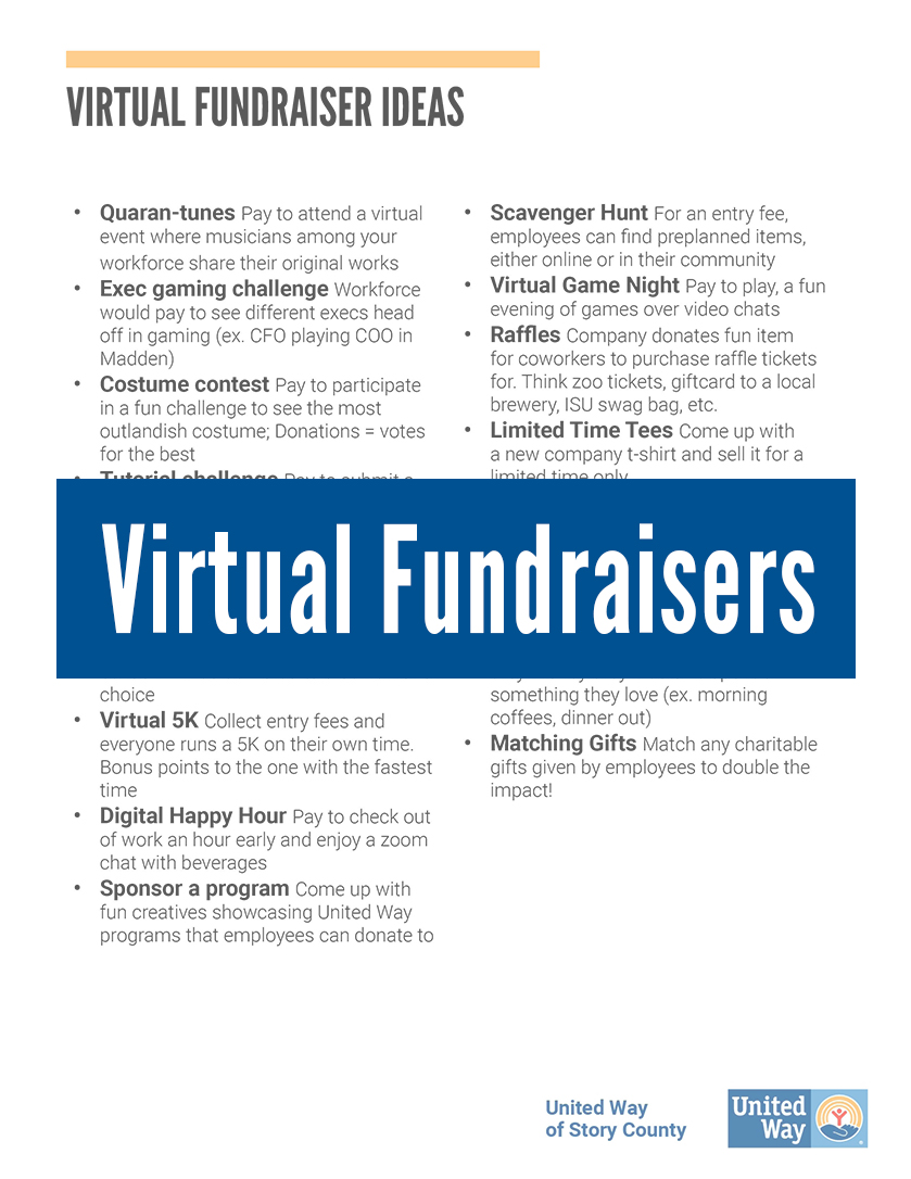 Virtual Fundraisers